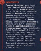 Terrine Homard & Crabe - Ingrédients - fr