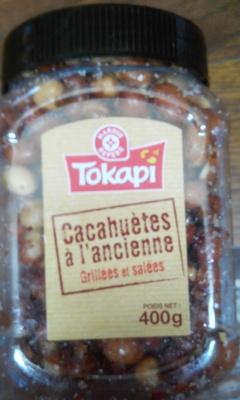 Cacahuètes à l'ancienne grillées et salées - Produit