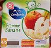 Pomme Banane Mot d'enfant - Product