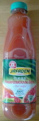 Pur jus de pamplemousse rose avec pulpe - Product - fr