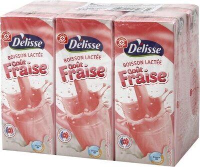 Boisson lactée fraise - Prodotto - fr