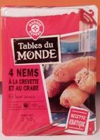 4 nems crevettes-crabe - Product