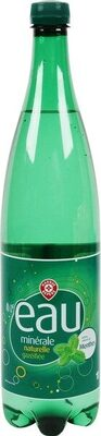 Boisson eau minérale naturelle gazeuse aromatisée menthe - Produit - fr