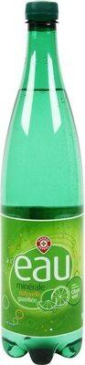 Boisson eau minérale naturelle gazeuse aromatisée citron vert - Product