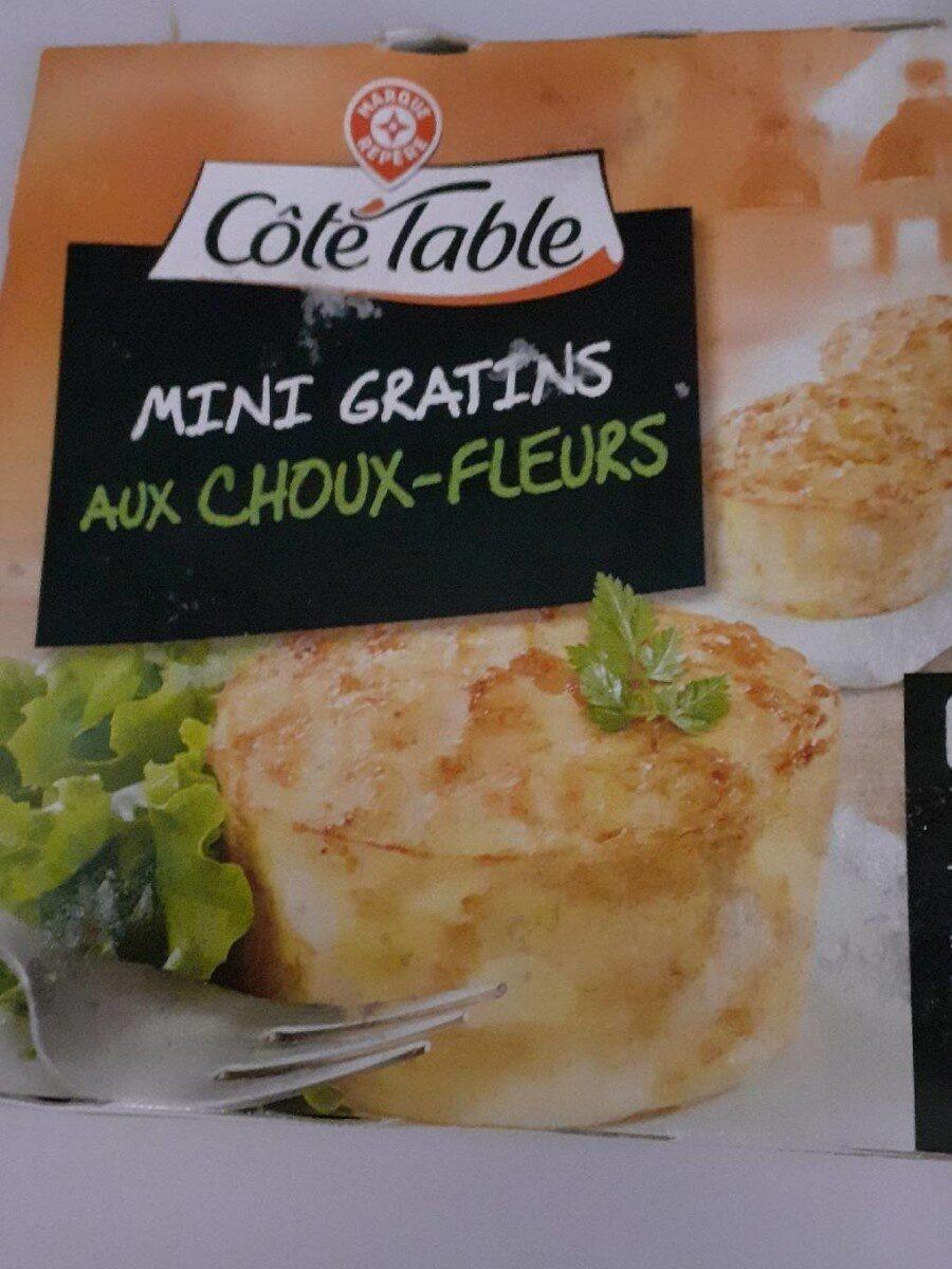 Mini gratins aux choux-fleurs x 4 - Product - fr