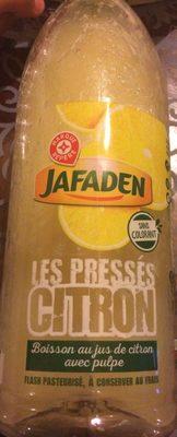 Les Pressés Citron - Produit