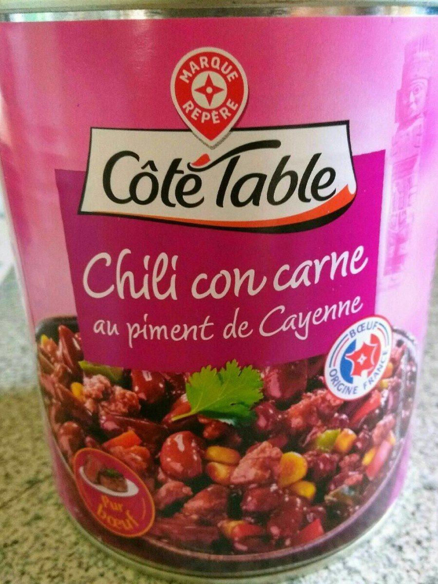 chili con carne au piment de cayenne c t table 820 g. Black Bedroom Furniture Sets. Home Design Ideas