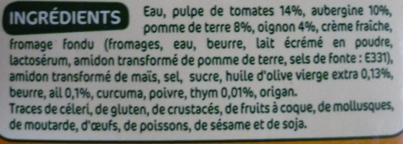 Veloute legumes du soleil - Ingrédients - fr