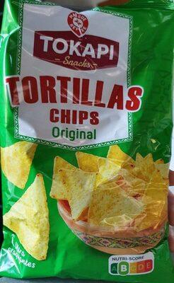 Tortillas chips nature - Produit - fr