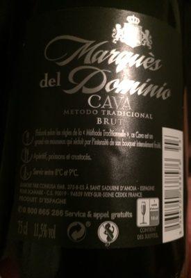 Do cava Marques Del Dominio Brut - Product