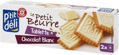 Petit-beurre tablette chocolat blanc - Produit