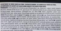 Assortiment exotique - Ingrédients - fr