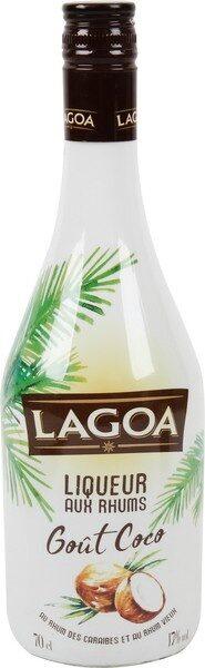 Liqueur au rhum goût coco 17° - Produit - fr