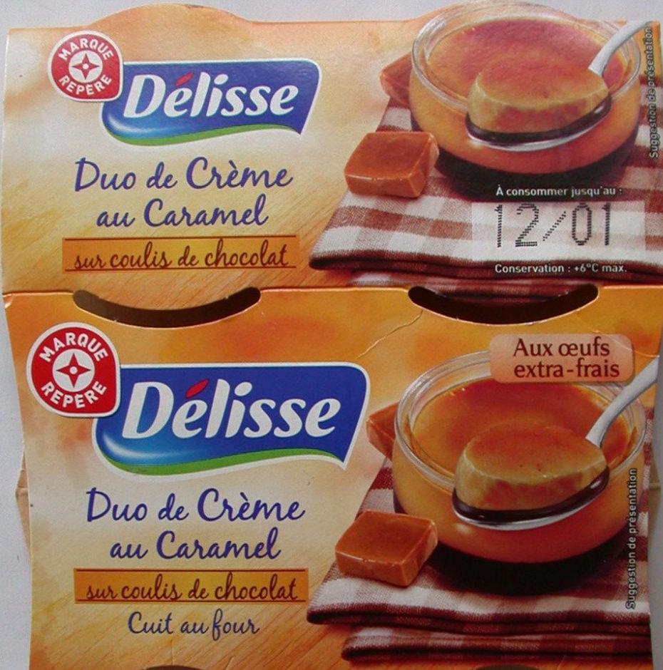 Duo crème caramel lit choco - Produit - fr