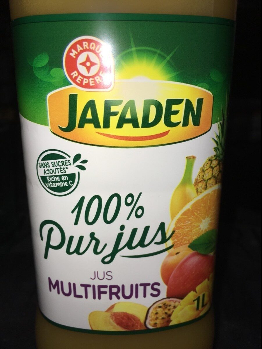 Pur jus multifruits pet - Product - fr