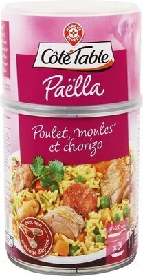 Paëlla royale volaille moule chorizo - Product - fr