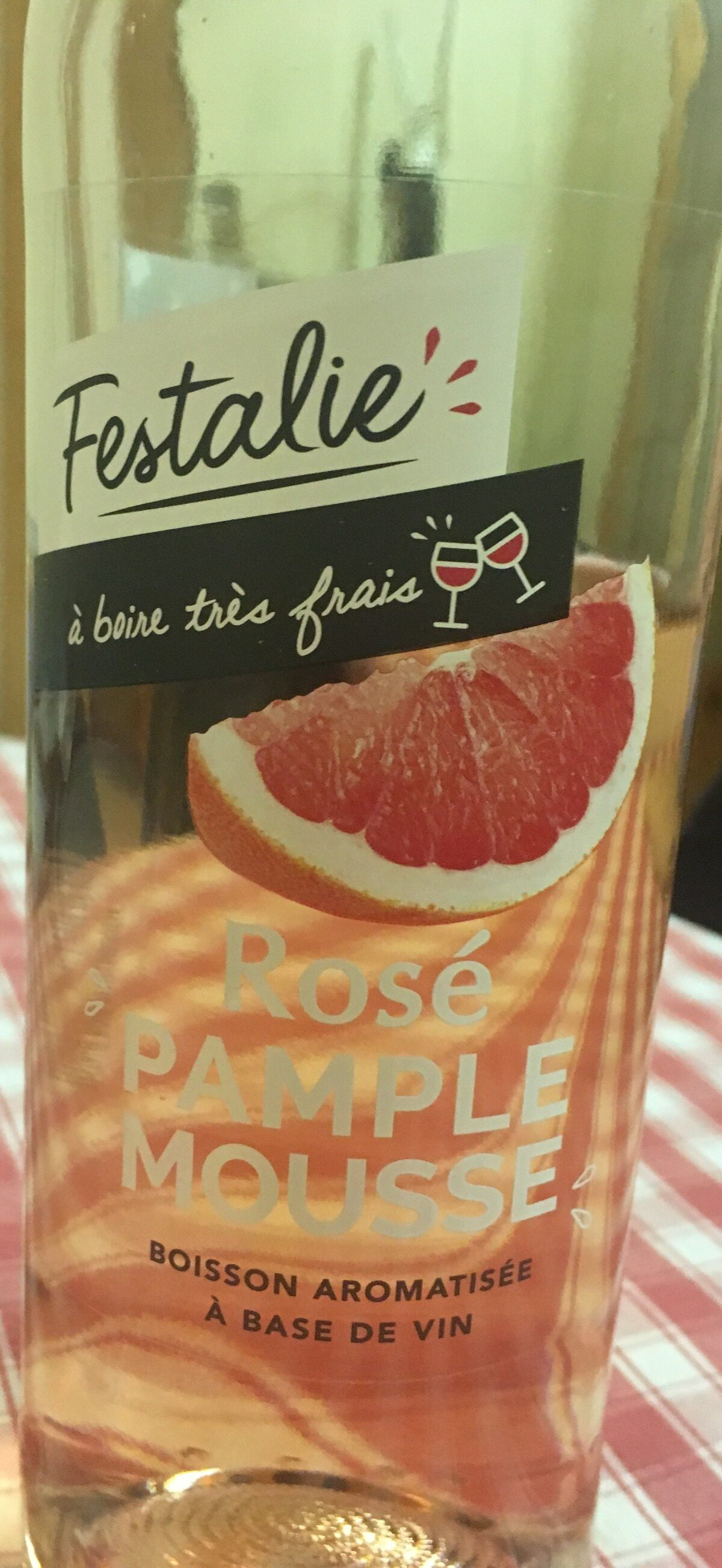 Rosé pamplemouse - Ingredients - fr