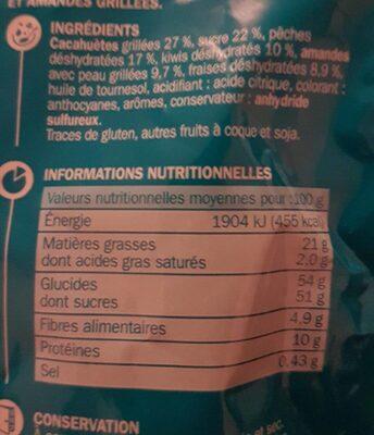 Mélange fruité - Ingrédients - fr