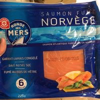 Saumon fumé de Norvège 6 tranches - Product
