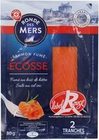 Saumon fumé d'Ecosse Label Rouge 2 tranches - Product - fr
