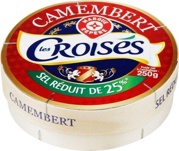 Camembert 22% Mat. Gr. sel réduit de 25% - Produit - fr
