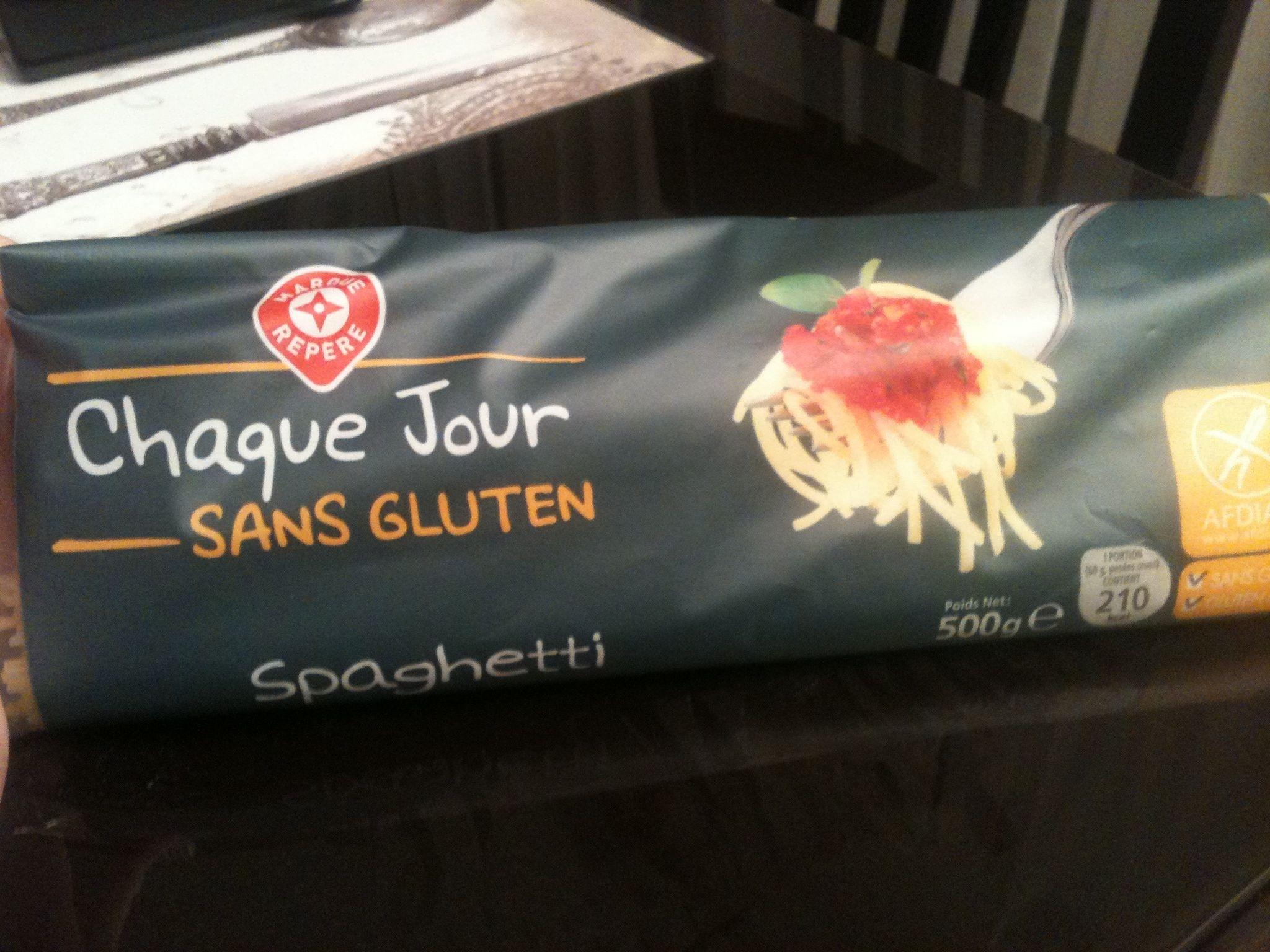 Spaghetti sans gluten - Produit - fr