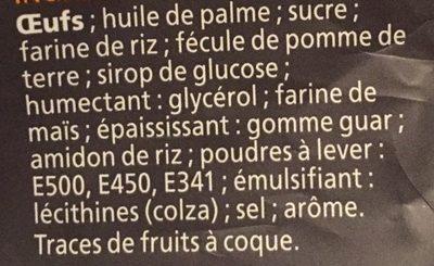 Coquilles Moelleuses - Ingredients