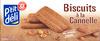 Biscuits à la Cannelle - au sucre candi - Produit