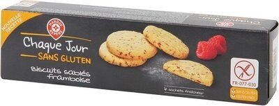 Biscuits sablés framboise sans gluten - Produit