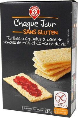Tartines craquantes sans gluten - Produit