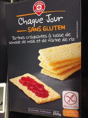 Tartines craquantes sans gluten - Product