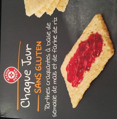 Tartines craquantes sans gluten - Ingredients