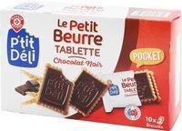 P'tit beurre tablette chocolat noir en sachets fraîcheur - Produit