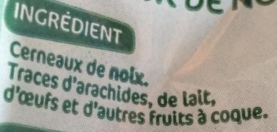 Cerneaux de noix - Ingrédients