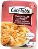 Tagliatelles au poulet sauce crème et champignons - Product