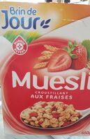 Muesli croustillant fraises - Produit - fr