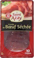 Viande de boeuf séchée x 10 tranches - Prodotto - fr