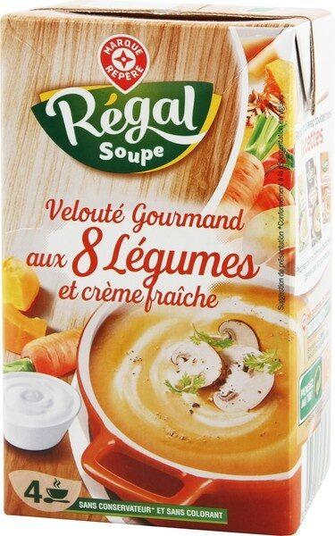 Potage gourmand 8 légumes à la crème - Produit - fr
