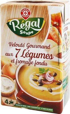 Potage gourmand légumes au fromage fondu - Product - fr