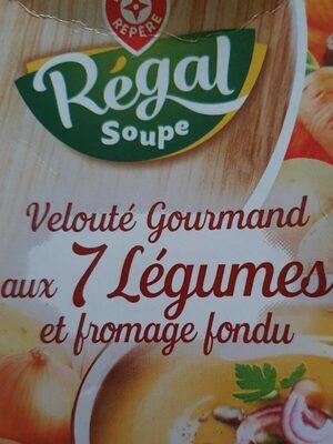 Potage gourmand légumes au fromage fondu - Produit - fr