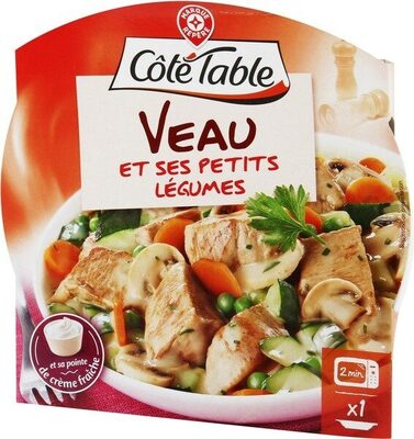 Veau aux petits légumes - Produit
