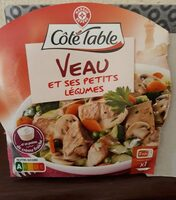 Veau aux petits légumes - Product - fr