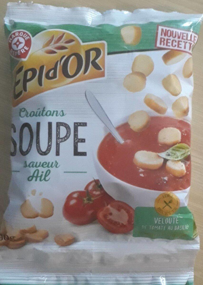 Croûtons saveur ail spécial soupe - Produit - fr
