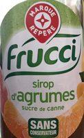Sirop d'agrumes au sucre de canne - Product