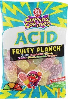 Planch' acid goût fruits - Produit