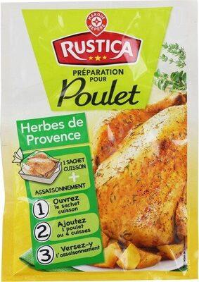 Sachet cuisson poulet herbes de provence - Product