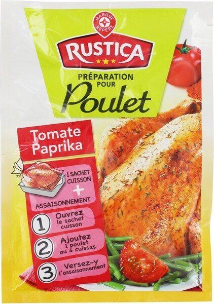 Sachet cuisson poulet paprika et tomate - Product