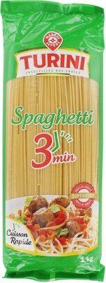 Spaghetti cuisson rapide - Product