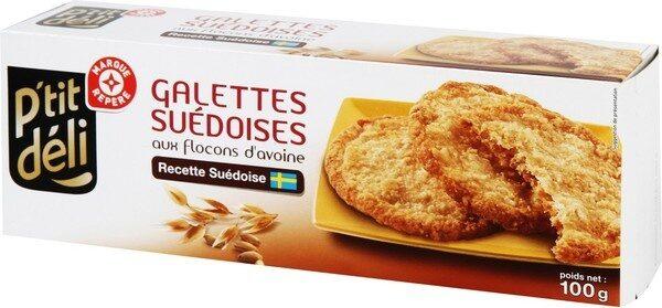 Galettes suedoises flocon avoine - Product