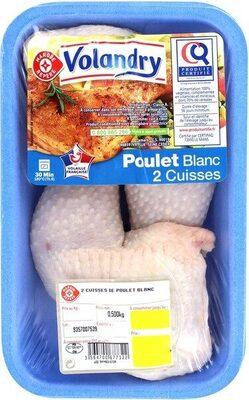 Cuisses poulet blanc certifié - Produit